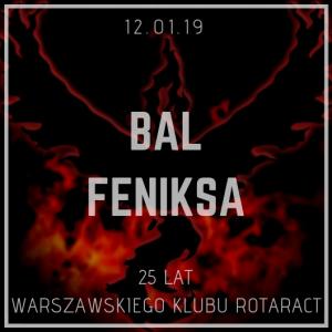 Zaproszenie Na Bal Feniksa Warszawskiego Klubu Rotaract Rotaract